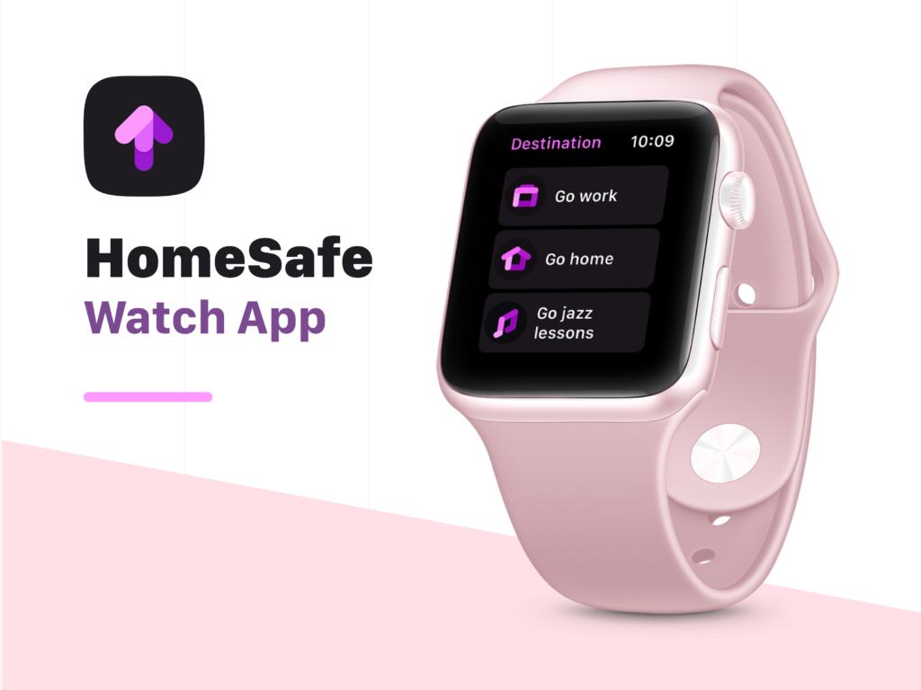 HomeSafe app